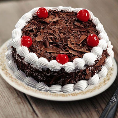 Online Black Forest Cake Delivery by Way2flowers