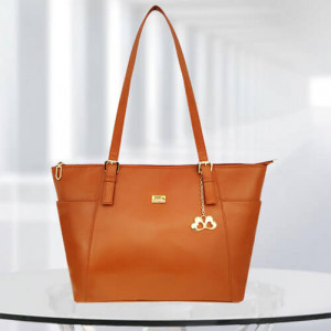 AP Zinnia Tan Color Bag - Branded Handbags Online