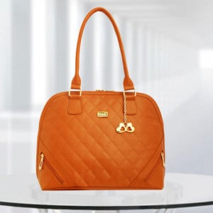 AP Sophia Tan Color Bag - Branded Handbags Online