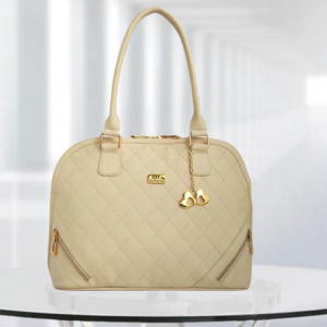 AP Sophia Cream Color Bag - Branded Handbags Online