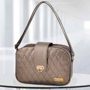 AP Whitney Gun Metal Color Bag - Branded Handbags Online