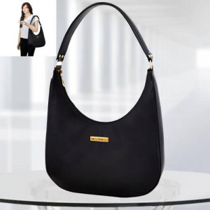 AP Isabella Black Color Bag - Branded Handbags Online