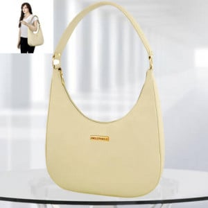 AP Isabella Cream Color Bag - Branded Handbags Online