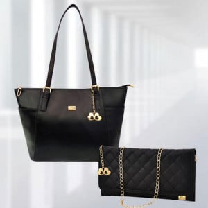 AP Zinnia Black Bag - Branded Handbags Online