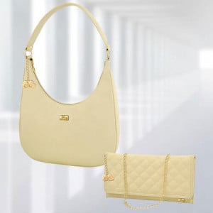 AP Isabella Cream Bag - Branded Handbags Online