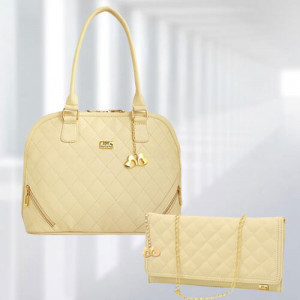 AP Sophia Cream Bag - Branded Handbags Online