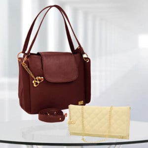 AP Victoria Brown Bag - Branded Handbags Online