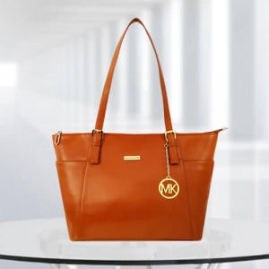 MK Zinnia Tan Color Bag - Branded Handbags Online