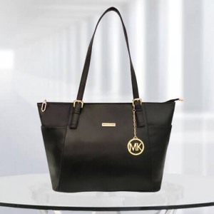 MK Zinnia Black Color Bag - Branded Handbags Online