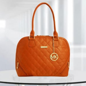 MK Sophia Tan Color Bag - Branded Handbags Online