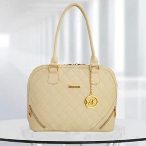 MK Sophia Cream Color Bag - Branded Handbags Online