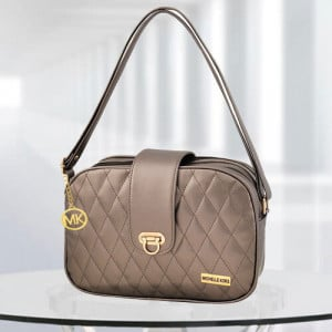 MK Whitney Gun Metal Color Bag - Branded Handbags Online