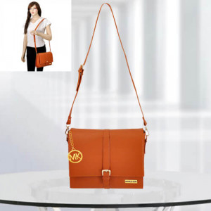 MK Scarlett Tan Color Bag - Branded Handbags Online