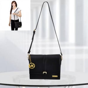 MK Scarlett Black Color Bag - Branded Handbags Online