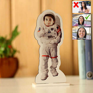 Customised Astronaut Caricature - Personalised Photo Gifts Online