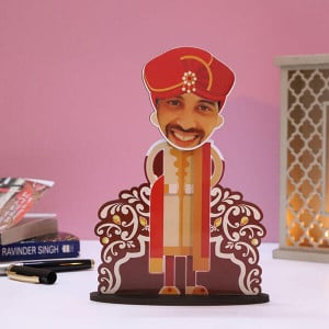 Customised Dulha Caricature - Personalised Photo Gifts Online