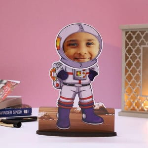 Customised Bobble Astronaut Caricature - Personalised Photo Gifts Online