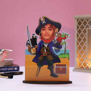Customised Pirates Caricature - Personalised Photo Gifts Online