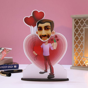 Customised Lover Boy Caricature - Personalised Photo Gifts Online