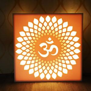 Decorative Corian 3D Effect Om - Online Home Decor Items