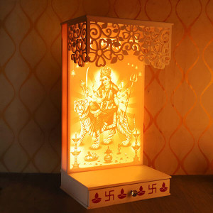 Decorative Corian Maa Sherawali - Online Home Decor Items