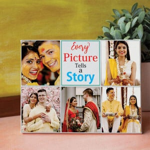 Story With Picture Personalized Canvas - Personalised Photo Gifts Online