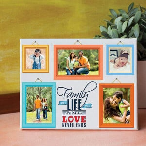 Family Personalized Canvas - Personalised Photo Gifts Online