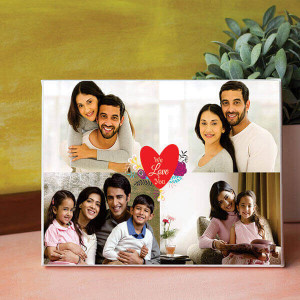 We Love You Personalised Canvas - Canvas Prints | Canvas Printing Online