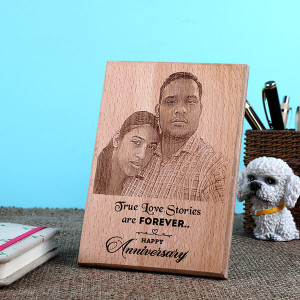 Anniversary Wooden Plaque - Online Home Decor Items