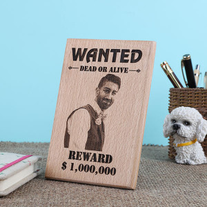 Personalised Funky Dead Or Alive Wooden Plaque - Online Home Decor Items