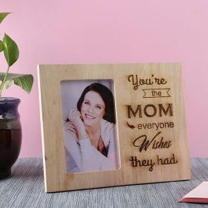 Mom Wooden Frame - Personalised Photo Frames Gifts