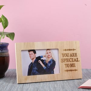Customised Special Wooden Frame - Personalised Photo Gifts Online