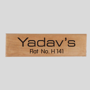 Personalised Wooden Nameplate - Personalised Photo Gifts Online