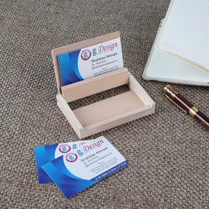 Engraved Business Card Holder - Personalised Photo Gifts Online