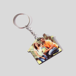 Personalised Sweet Home Key Chain - Personalised Photo Gifts Online