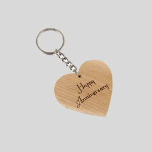 Engraved Wish Key Chain - Personalised Photo Gifts Online