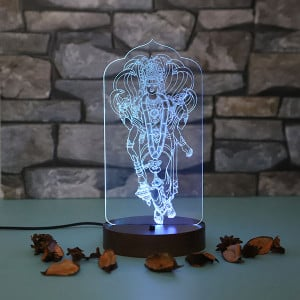 Lord Vishnu Led Lamp - Personalised Photo Lamps