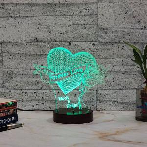 Forever Love Led Lamp - Birthday Cakes Online