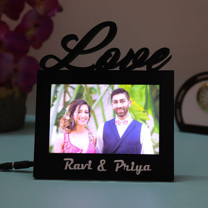 Customised Love Led Lamp - Personalised Photo Lamps