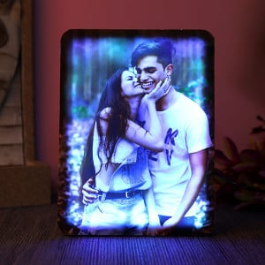 Personalised Beautiful Led Lamp - Personalised Photo Gifts Online