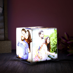 Personalised Five Sides Acrylic Photo Lamp - Personalised Photo Gifts Online