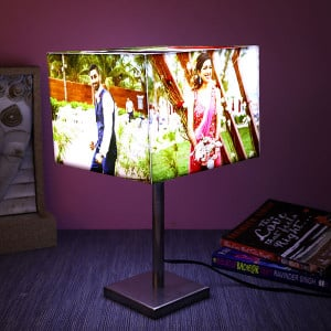 Personalised Cube Glowing Lamp - Personalised Photo Lamps
