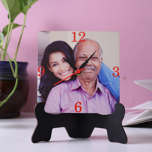 Elegant Table Clock With Stand - Personalised Clocks Online