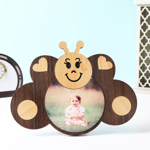 Customised Kids Butterfly Shape Photo Frame - Personalised Photo Frames Gifts