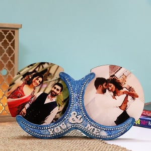 Personalised You & Me Photo Frame - Personalised Photo Gifts Online