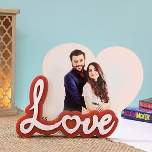 Personalised Love Photo Frame - Personalised Photo Gifts Online