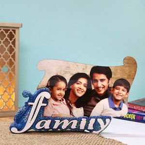 Personalised Family Photo Frame - Personalised Photo Gifts Online