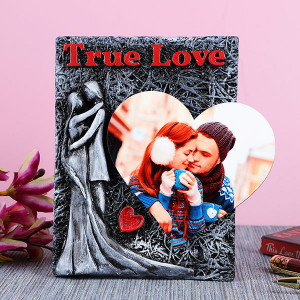 Personalised True Love Photo Frame - Personalised Photo Gifts Online