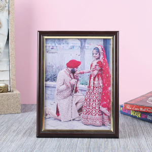 Customised Plastic Moulding Photo Frame - Personalised Photo Gifts Online