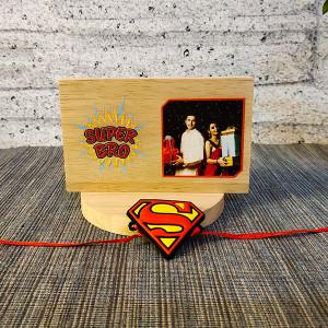 Super Man Rakhi - Rakhi for Brother Online